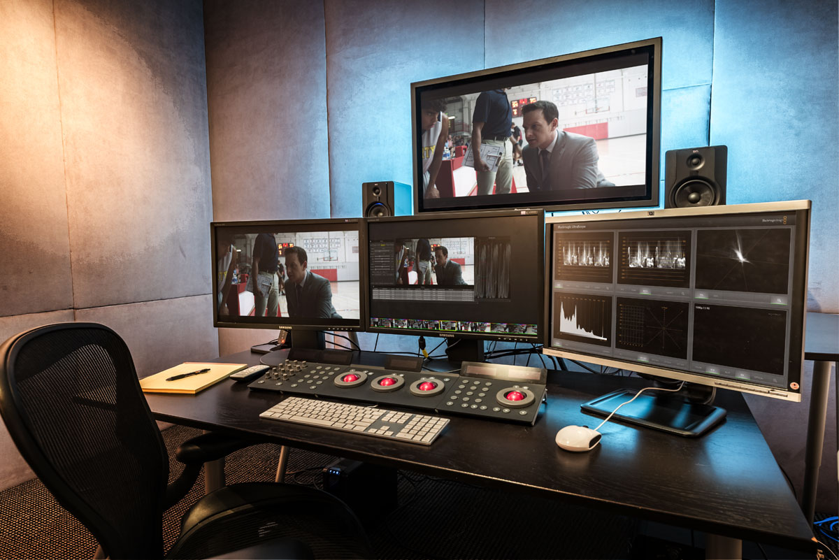 Digital Dailies studio at Headquarters Post LLC